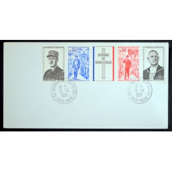 First day cover, Lille....