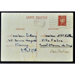 Carte lettre Pétain