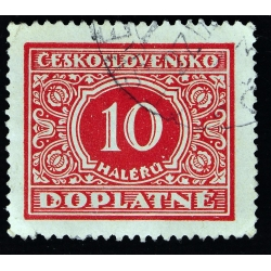 timbre taxe 10 DOPLATNE - 1928