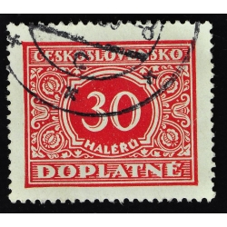 timbre taxe 30 DOPLATNE - 1928