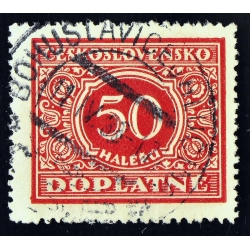 timbre taxe 50 DOPLATNE - 1928