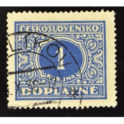 timbre taxe 1 DOPLATNE - 1928