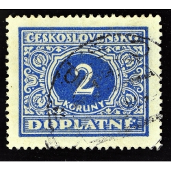 timbre taxe 2 DOPLATNE - 1928