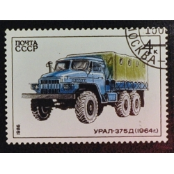 Camion Oural 375 D-1964